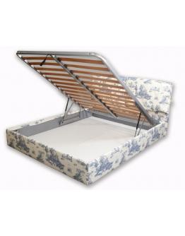 Кровать-сомье с мягким изголовьем Vapi Salotti Nettuno (Италия)