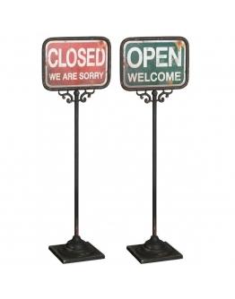 Стойка «Открыто»