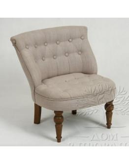 Низкое кресло, отделка «Лен»