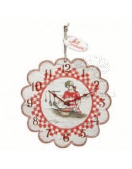 Часы круглые на кухню «Коттедж»