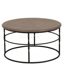 Стол кофейный «Натурель» круглый