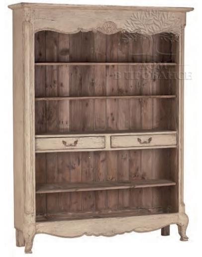 Книжный шкаф «Шато» с 2-мя ящиками