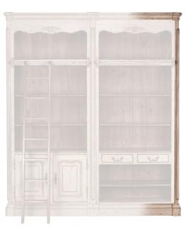 Угловая панель книжного шкафа «Шато»