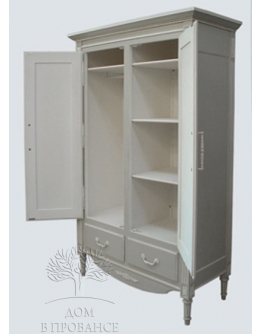 Шкаф для одежды «Густавьен» 2-х дверный