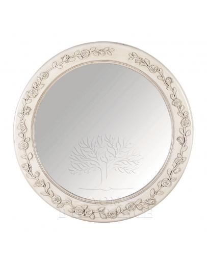 Зеркало круглое «Романс»