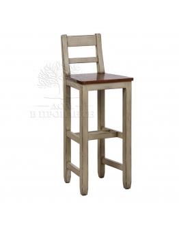 Барный стул со спинкой «Брокант»