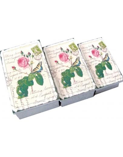 Комплект коробок «Открытка с розами» (3 шт.)