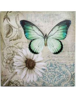 Принт на холсте «Бабочки» Б