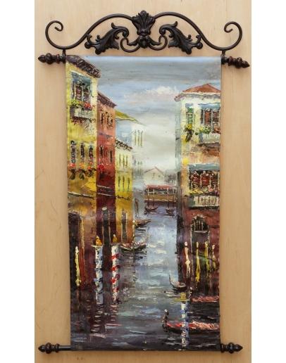 Картина «Венецианская улочка» 30 х 60 см