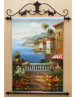 Картина «Средиземноморская терраса» 90 х 60 см