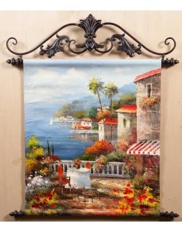 Картина «Средиземноморская терраса» 50 х 60 см