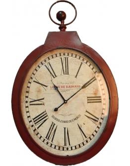 Часы настенные «Бордо» овальные