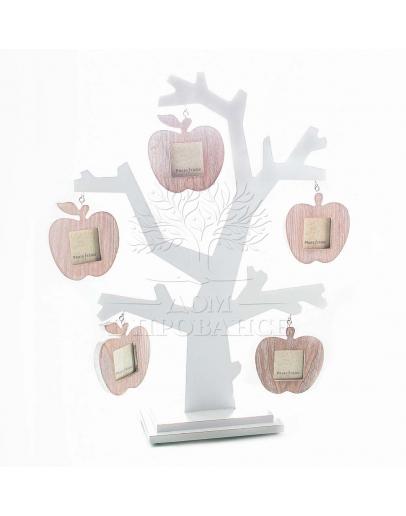 Фоторамка «Стройная яблоня» на 5 фото