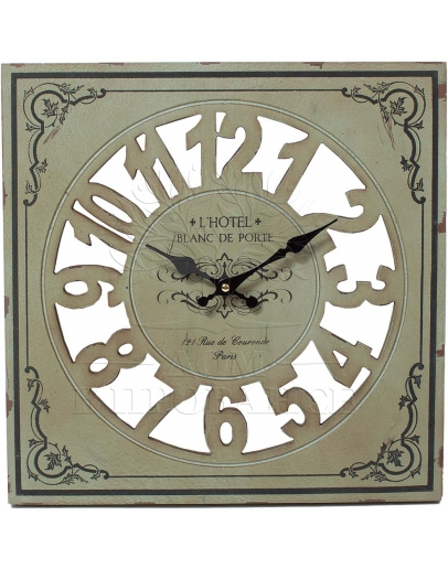 Часы настенные  Blanc de Porte, МДФ