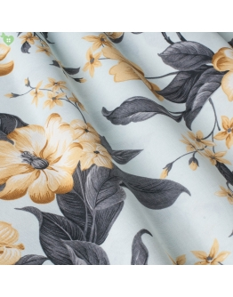 Ткань «Валериа» желтые цветы