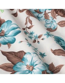 Ткань «Валериа» голубые цветы