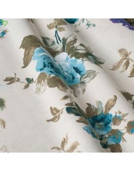 Ткань «Изабелла» голубые цветы