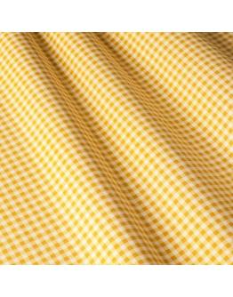 Ткань «Диана» желтая мелкая клетка