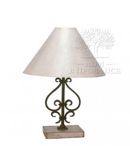 Настольная лампа «Шато» кованая