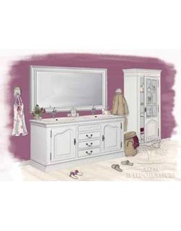 Зеркало для ванной «Романс» большое