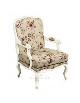 Кресло, отделка «Цветы»