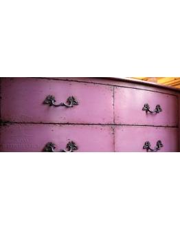 Комод «Флорентин» на 4 ящика, отделка «Фиолет»