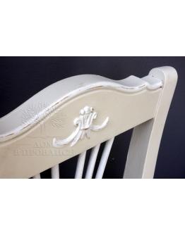 Стул с мягким сиденьем «Люберон», песочного цвета