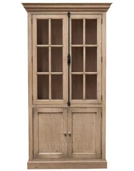 Книжный шкаф «Натурель» 2х-дв. со стеклом