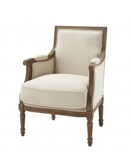 Кресло «Амори» серый лён
