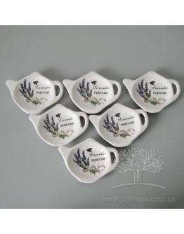 Подставки для чайных пакетиков, 6 шт.