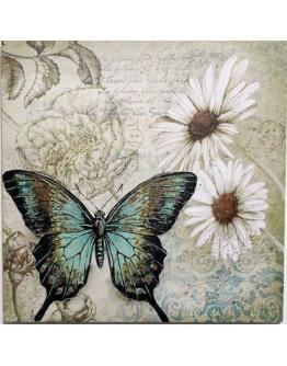 Принт на холсте «Бабочки» А