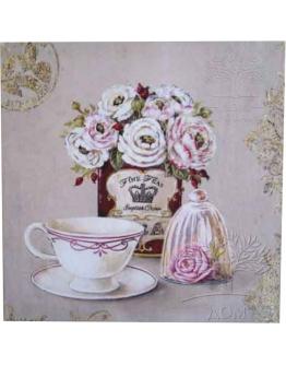 Принт на холсте «Чаепитие»