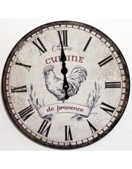 Часы настенные «Прованская кухня»