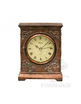 Часы настольные бронзовые