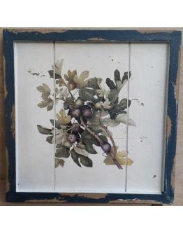 Принт на дереве «Смоковница»