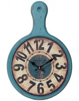 Часы настенные «Доска» синие