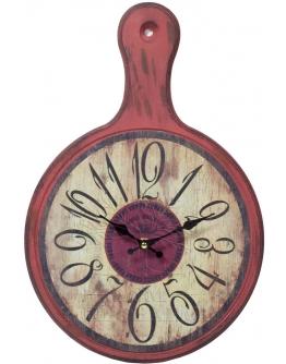 Часы настенные «Доска» красные