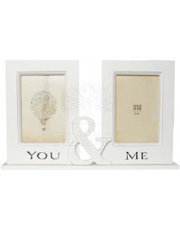 Фоторамка You&Me на 2 фото (прямоугольные)