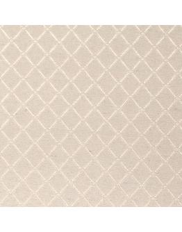 Ткань «Ажур» молочный фон