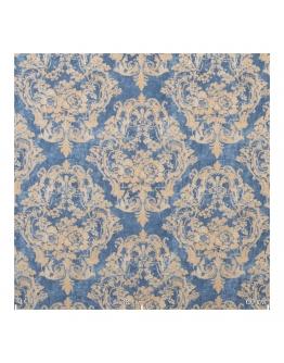 Ткань «Брависсимо» на голубом фоне