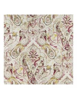 Ткань «Акварель бордо»