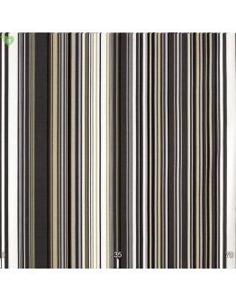 Ткань «Виола» серо-коричневые полосы