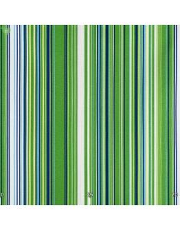 Ткань «Виола» сине-зеленые полосы