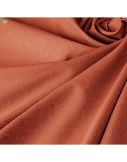 Ткань «Джустина» однотонная терракотовая